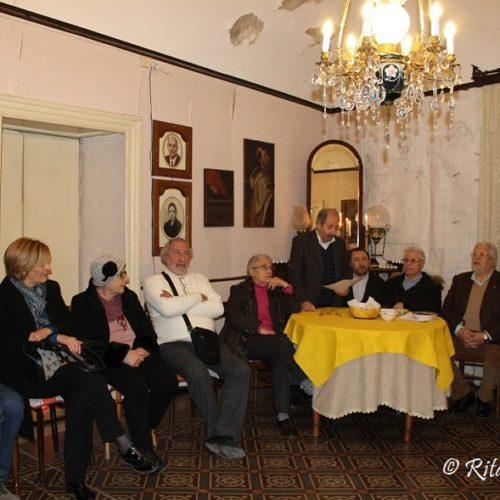 """Il Salotto artistico- letterario """"Civico 49"""" ricorda lo studioso barrese dott. Angelo Ligotti"""