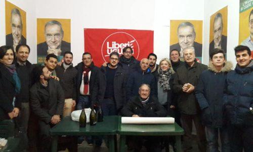 """Leonforte. Inaugurato il comitato elettorale """"Liberi e Uguali"""""""