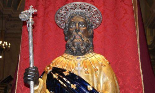 AIDONE – Dal 28 aprile – 1 maggio 2018 saranno esposte le reliquie di san Filippo Apostolo e di San giacomo Minore