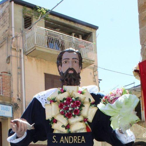 Riproduzione artistica della statua dell'apostolo SANT'ANDREA