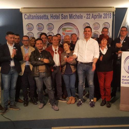 """Caltanissetta. Gazebo itinerante da parte del movimento politico direzione Futuro"""""""