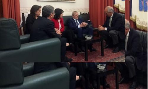 Enna. Il commissario straordinario riceve i consoli rumeni