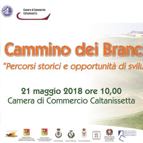 """""""IL CAMMINO DEI BRANCIFORTI"""" seminario formativo presso la Camera di Commercio Caltanissetta"""