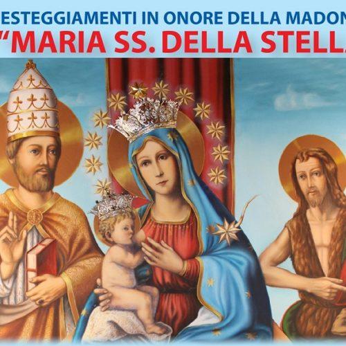 Festeggiamenti in onore di Maria SS. della Stella di Barrafranca (EN)- programma 2018