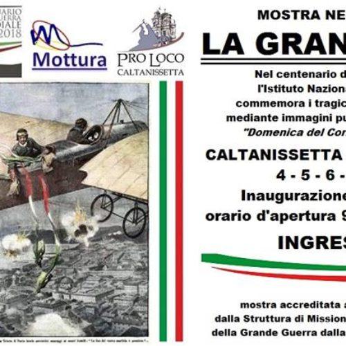 """Mostra """"LA GRANDE GUERRA"""" presso il Museo Mineralogico di Caltanissetta"""