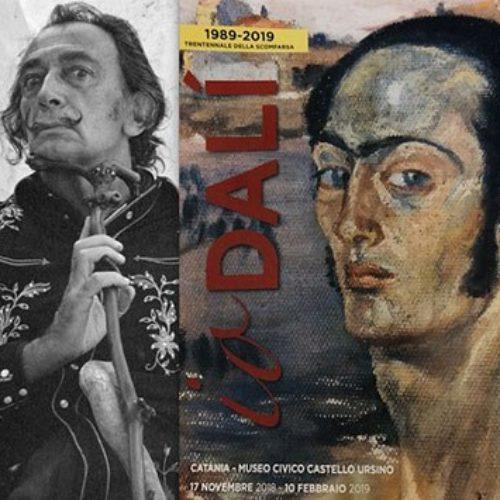 I capolavori di Salvador Dalì in mostra al Museo Civico di Catania
