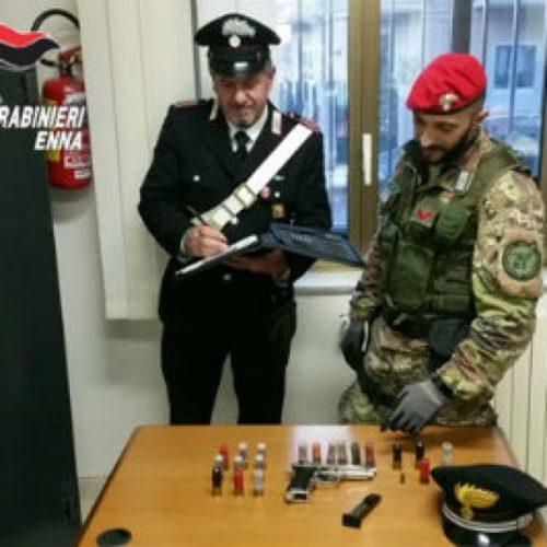 CERAMI/ TROINA. Servizio di controllo del territorio. I carabinieri sequestrano armi e droga. Denunciate quattro persone
