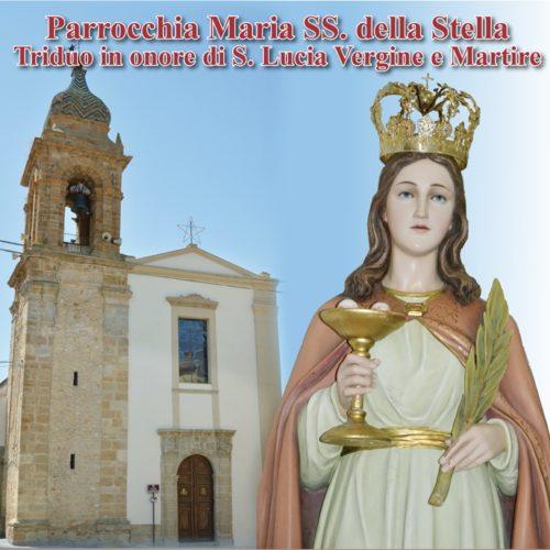 Programma dei festeggiamenti barresi in onore di Santa Lucia