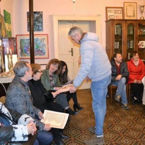 """Il Salotto artistico-letterario """"Civico 49"""" ospita l'artista barrese Carmelo Sentito"""