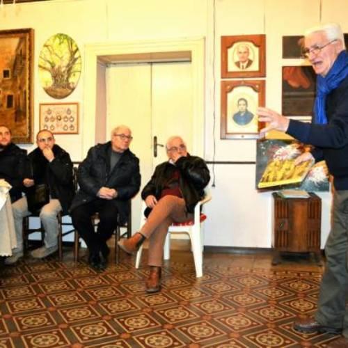 """Il Salotto artistico-letterario """"Civico 49"""" ospita il prof. Totò Faraci"""