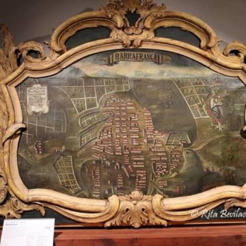 Barrafranca del 700: il sopraporta di Palazzo Butera