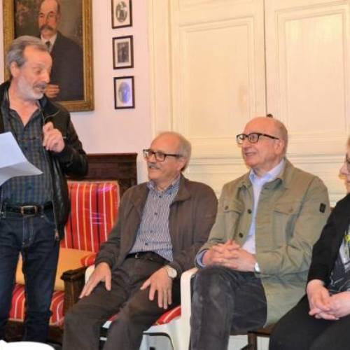 """Il Salotto artistico-letterario """"Civico 49"""" ospita lo scultore barrese Carmelo Crapanzano."""