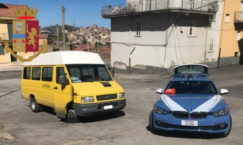 Valguarnera. Multato scuolabus comunale dopo controlli della Polizia Stradale