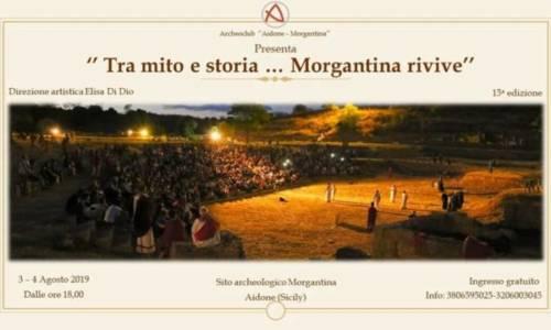 """XV Edizione di: """"Tra mito e storia… Morgantina rivive"""". A tavola con gli antichi: miti, vita quotidiana, archeosapori."""