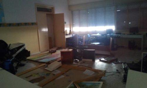 VALGUARNERA. Distruggevano interno di un istituto scolastico per combattere la noia durante le vacanze estive. Denunciati 5 studenti minorenni di Valguarnera Caropepe.