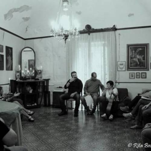 """Il Salotto artistico-letterario """"Civico 49"""" ospita l'attore Gaetano Ingala"""