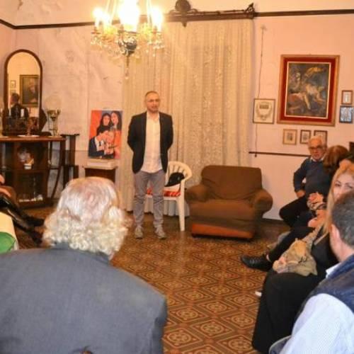 """Il Salotto artistico-letterario """"Civico 49"""" presenta il romanzo """"Fuoco Siciliano"""" del socio Salvatore Bontempo"""