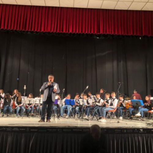 Successo a Favara dell'orchestra musicale dell'istituto comprensivo Europa
