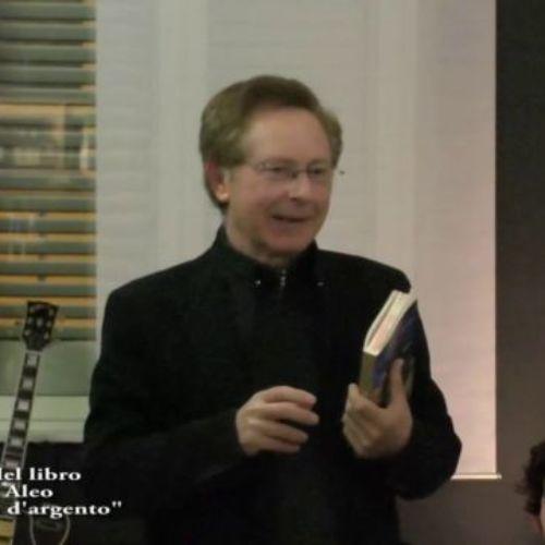 """Barrafranca. VIDEO.Civico 49, il prof. Diego Aleo presenta il suo ultimo libro """"Mezzo dollaro d'argento"""""""