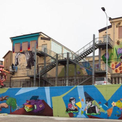 """Concluso a Calascibetta il progetto di riqualificazione urbana """"WOL per XibetArt"""": Quattro visioni, tre artisti, un unico leit motiv: l'Ambiente."""