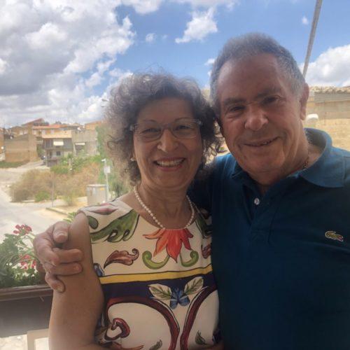 Lina Caputo e Giuseppe Costa festeggiano il traguardo di 50 anni di vita coniugale