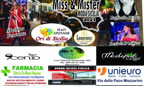 """MAZZARINO.Selezione """"La Scala della Moda Concorso nazionale Miss e Mister Sicilia 2021""""."""