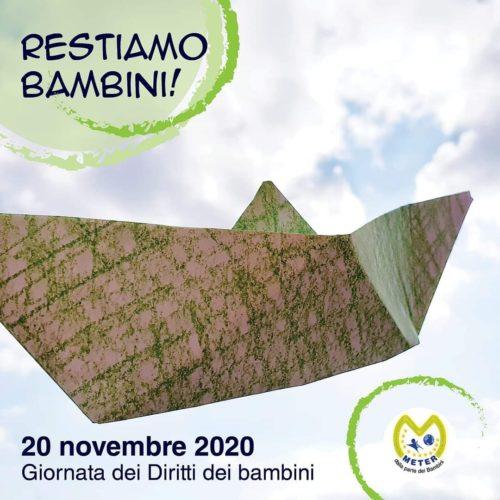 INFANZIA/METER 20 NOVEMBRE 2020. GIORNATA DEI DIRITTI DEI BAMBINI