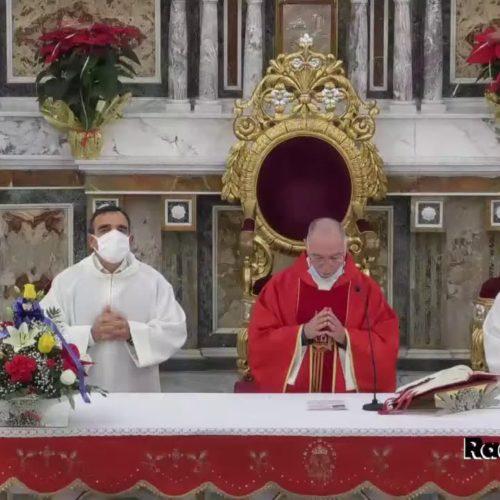 Barrafranca. VIDEO. Festa di Santa Lucia, Santa Messa