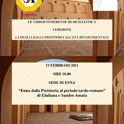Enna. Prima videoconferenza online di SiciliAntica
