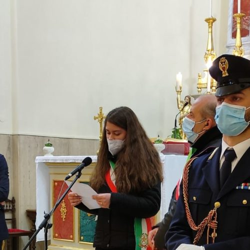 CATENANUOVA. La Polizia di Stato di Enna ha commemorato l'agente Giuseppe Scravaglieri.