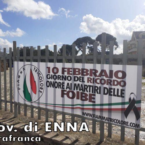 Il Movimento Sociale Fiamma Tricolore onora i Martiri delle Foibe.