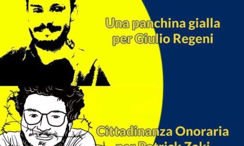 Troina. Solidarieta' e giustizia per Patrick Zaky e Giulio Regeni