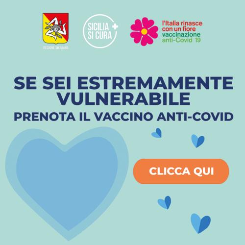 ASP Enna. Vaccinazione per soggetti fragili e ultraottantenni