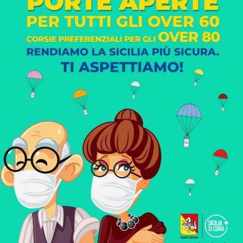 Vaccinazione. Porte aperte fino a domenica 25 aprile 2021