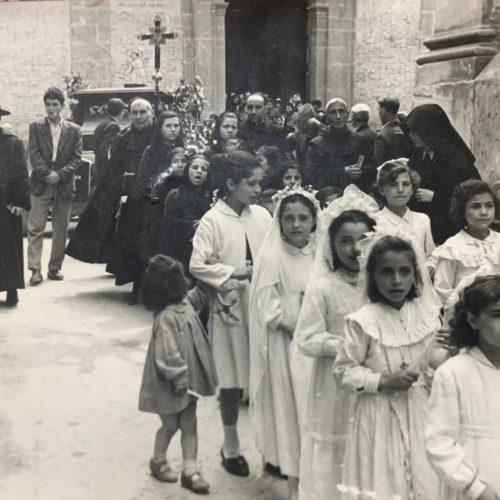 """""""I nove cori degli Angeli"""" antica pratica devozionale che si faceva a Barrafranca"""