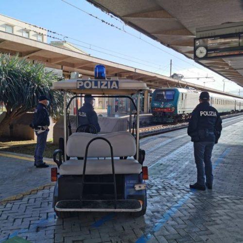 2 denunciati e circa 2.500 persone controllate dalla Polizia di Stato: il bilancio della settimana sui treni e nelle stazioni ferroviarie della Sicilia