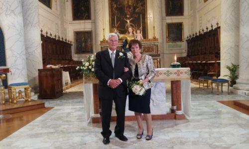 PIETRAPERZIA. Nozze d'oro per i coniugi Filippo ed Enza Panevino.