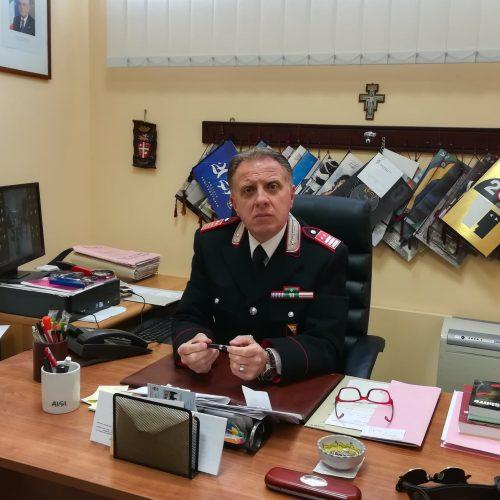 ENNA. Va in pensione il luogotenente Walter Lodico.