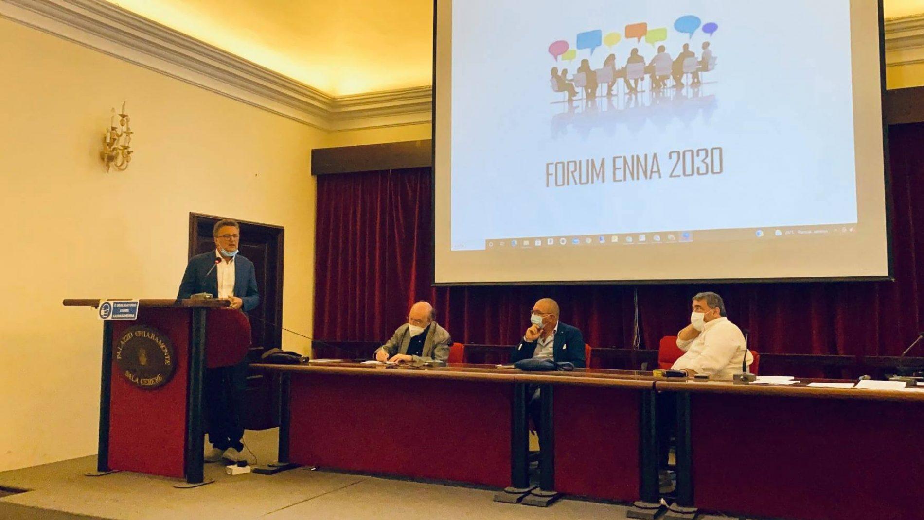 ENNA. Nasce il FORUM ENNA 2030. Il comitato promotore passa il testimone al nuovo coordinamento