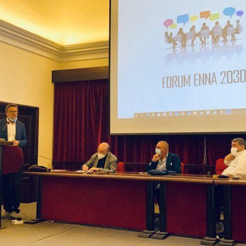 ENNA. Forum Enna 2030: si è insediato stamane il coordinamento. Appuntamento 25 ottobre per la nomina del portavoce.