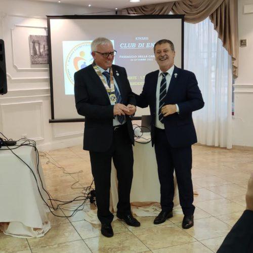 ENNA. Luigi Timpanaro nuovo Presidente del Kiwanis Club di Enna.