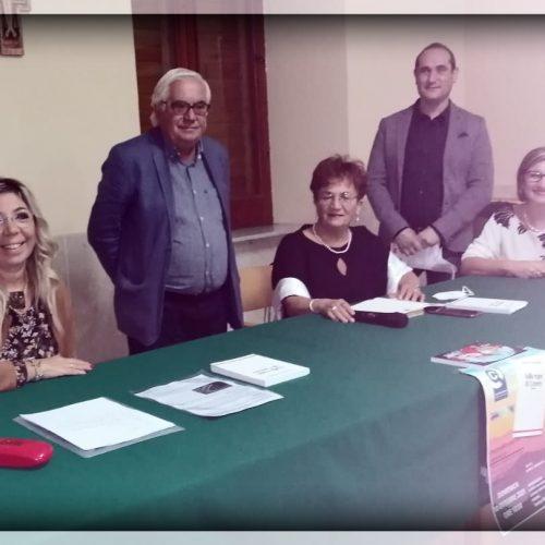 BARRAFRANCA. La prof.ssa Orietta Strazzanti presenta presso il salone della Chiesa Maria Santissima della Stella, il suo nuovo romanzo dal titolo: 'Sulla Rupe di Cerere'