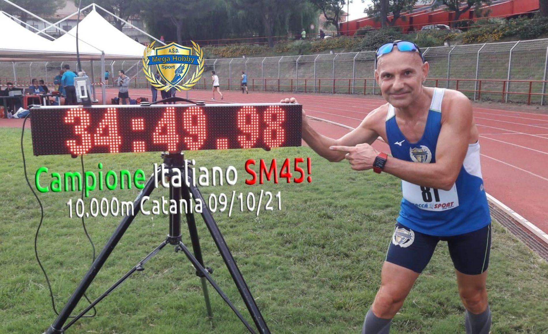 Barrafranca. Titolo italiano SM45, Salvatore Geraci batte tutti.